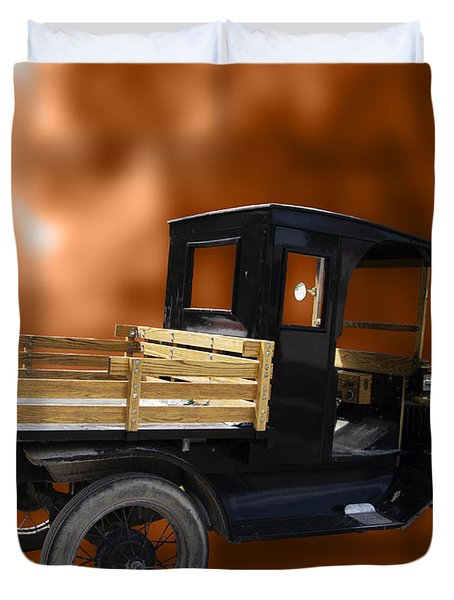 Old Truck Duvet Cover by Jo-Anne Gazo-McKim
