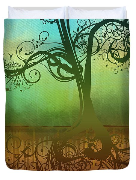 Omid Duvet Cover by Ryan Burton
