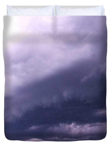 Ominous Clouds Duvet Cover by PainterArtist FIN
