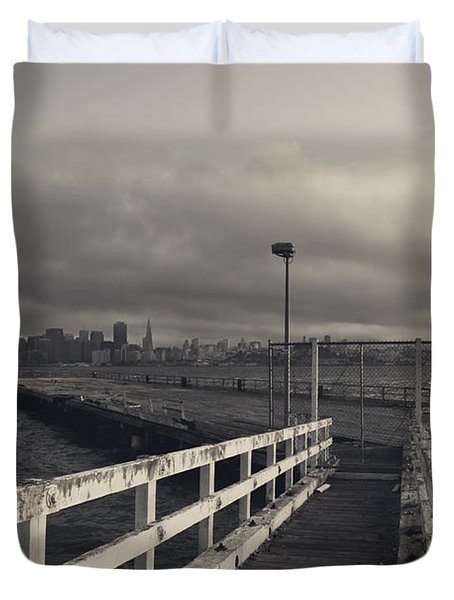 On And On Duvet Cover by Laurie Search