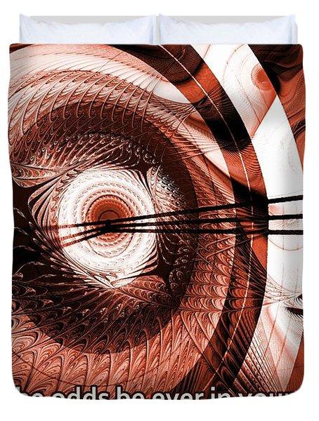 On Target Duvet Cover by Anastasiya Malakhova