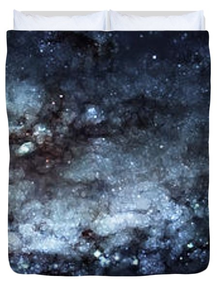 On The Galaxy Edge Duvet Cover by The  Vault - Jennifer Rondinelli Reilly