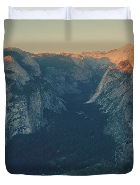 One Last Show Duvet Cover by Laurie Search