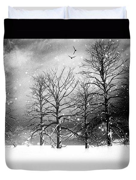 One Night In November Duvet Cover by Bob Orsillo