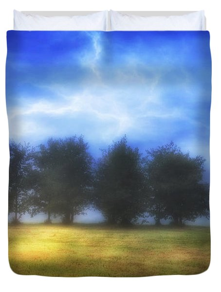 One September Morning Duvet Cover by Veikko Suikkanen