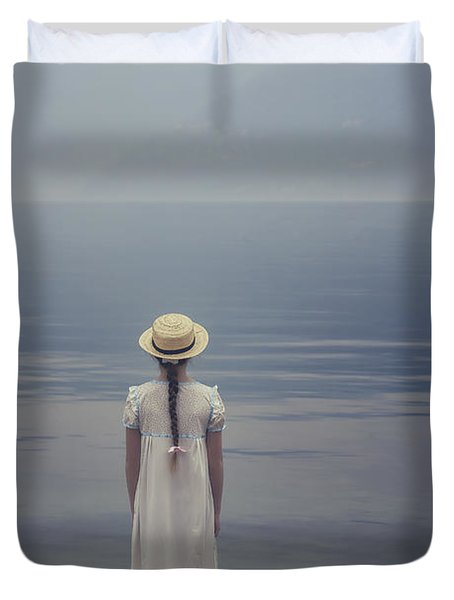Open Suitcase Duvet Cover by Joana Kruse
