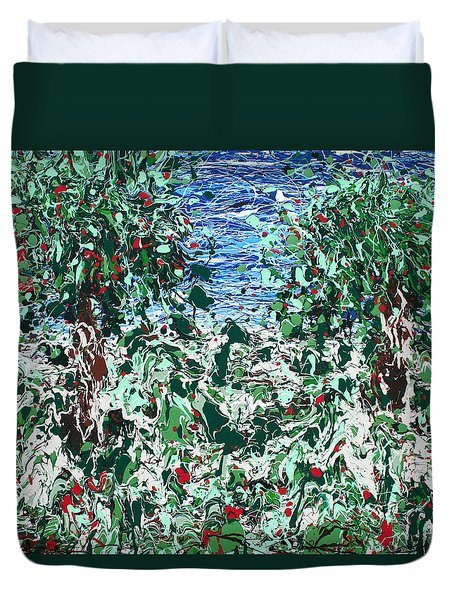 Orchard Number Five Duvet Cover by Ric Bascobert