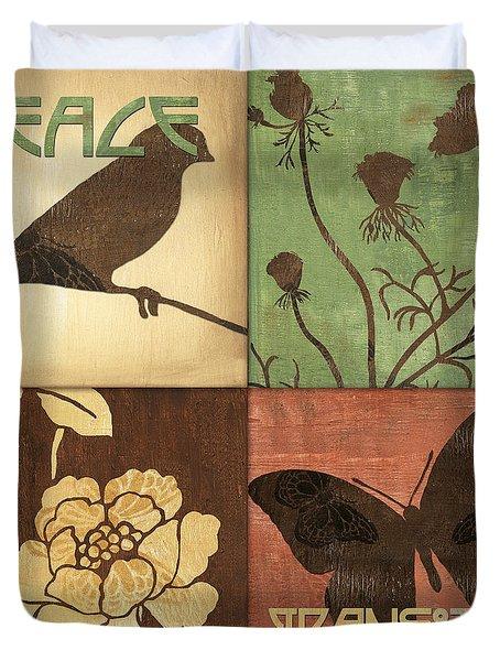 Organic Nature 1 Duvet Cover by Debbie DeWitt