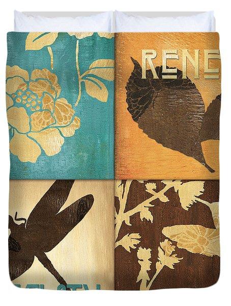 Organic Nature 4 Duvet Cover by Debbie DeWitt
