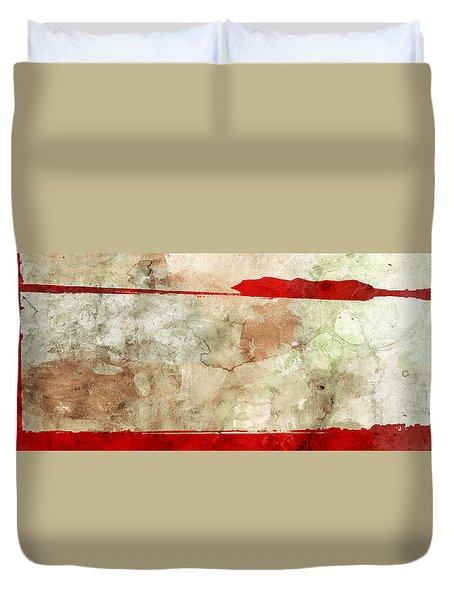 Orient Duvet Cover by Brett Pfister