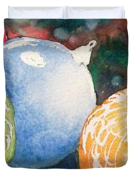 Ornaments Duvet Cover by Yoshiko Mishina
