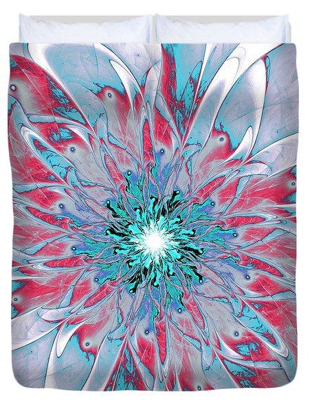 Ornate Duvet Cover by Anastasiya Malakhova