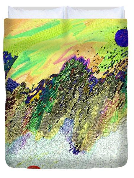 Otherworldly Duvet Cover by Lenore Senior