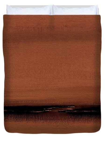 Our Oceans  The Continental Dividers  Number 1133-1 Duvet Cover by Diane Strain