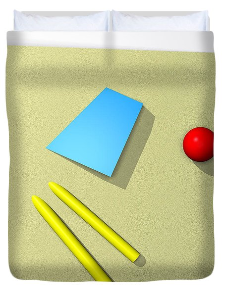 Out Of Square Duvet Cover by Richard Rizzo