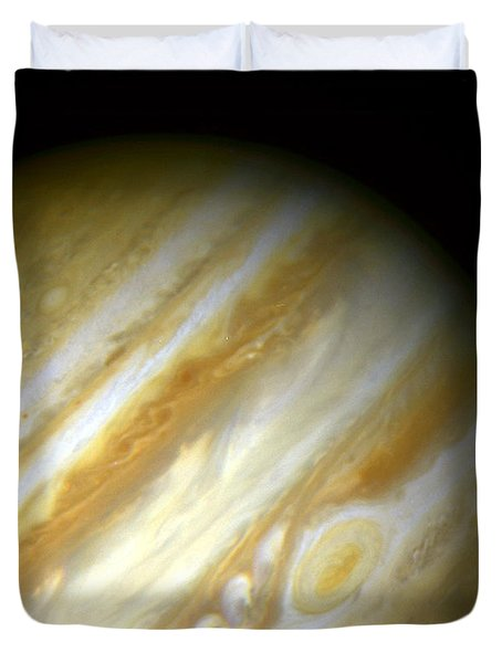 Outer Space Three Zero Six Duvet Cover by Nasa Usgs