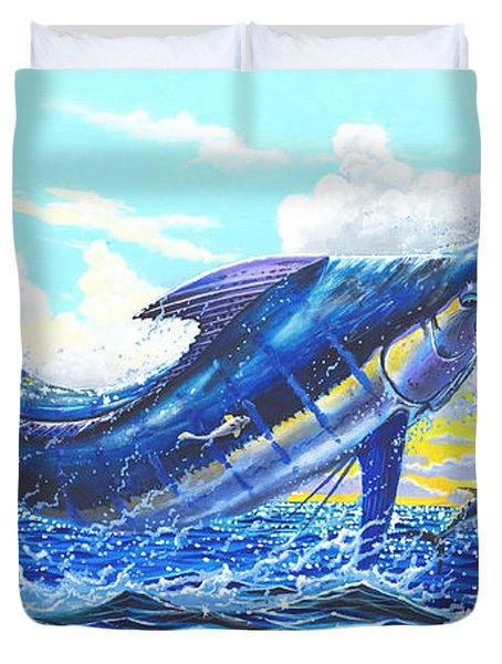 Outrageous Off00129 Duvet Cover by Carey Chen