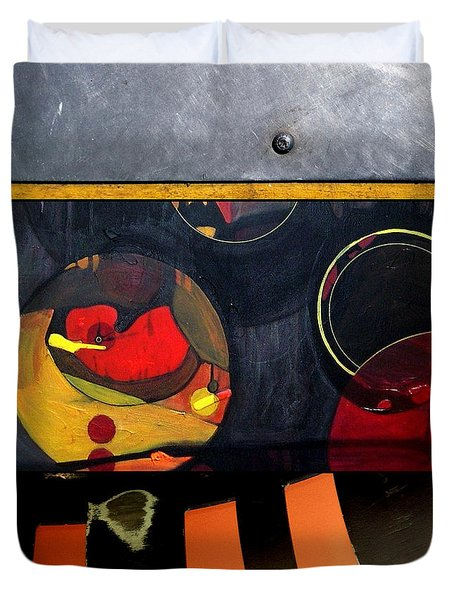 p HOT 115 Duvet Cover by Marlene Burns