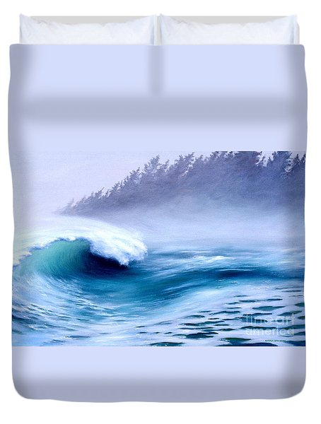 Pacific Power  Duvet Cover by Michael Swanson