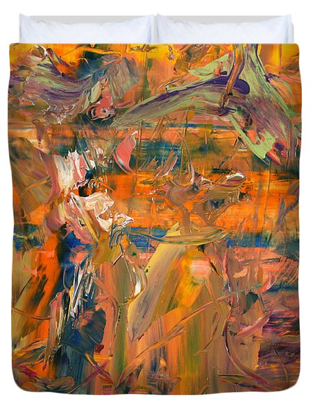 Paint Number 45 Duvet Cover by James W Johnson