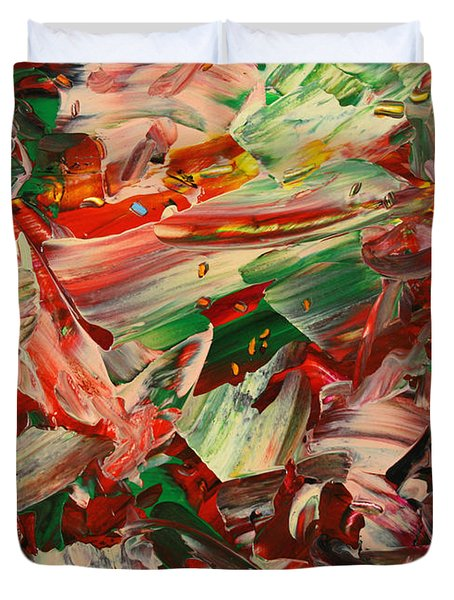 Paint number 48 Duvet Cover by James W Johnson
