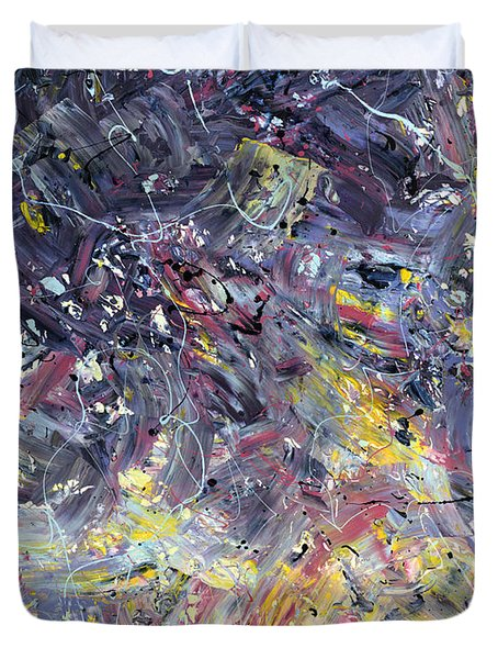 Paint Number 55 Duvet Cover by James W Johnson