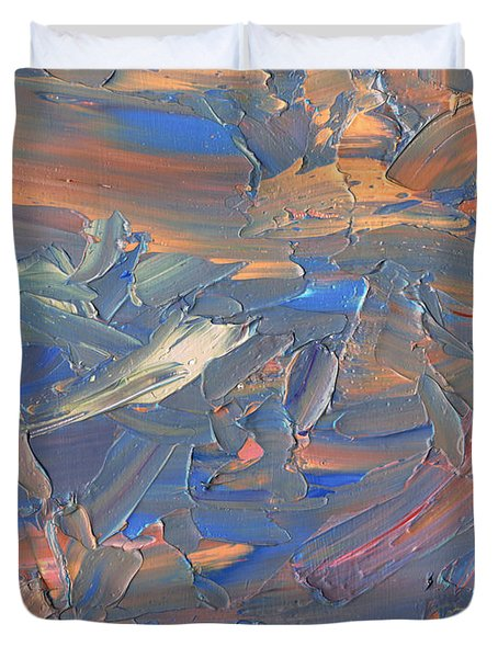 Paint number 58C Duvet Cover by James W Johnson