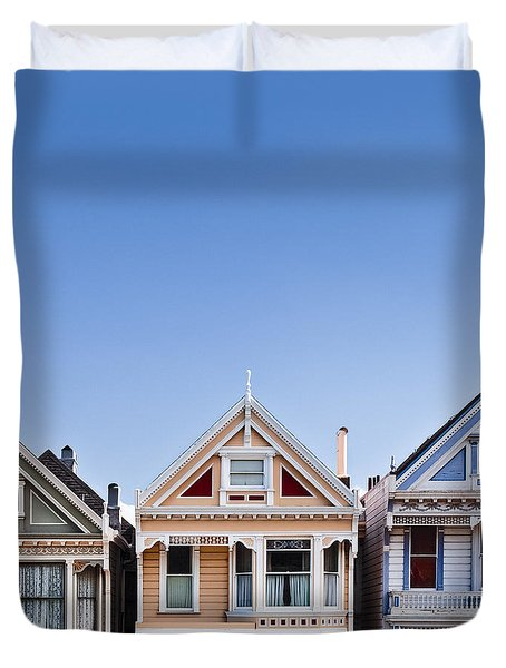 Painted Ladies Duvet Cover by Dave Bowman