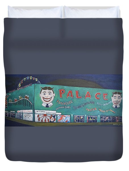 Palace 2013 Duvet Cover by Patricia Arroyo
