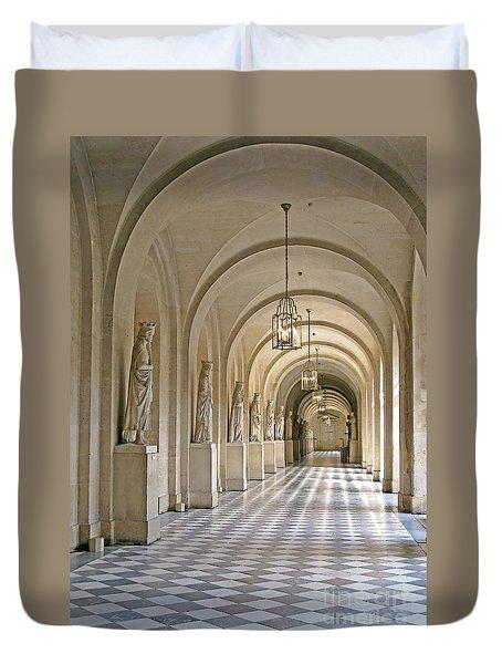 Palace Corridor Duvet Cover by Ann Horn
