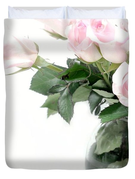 Paler Side of Pink Duvet Cover by Diana Angstadt