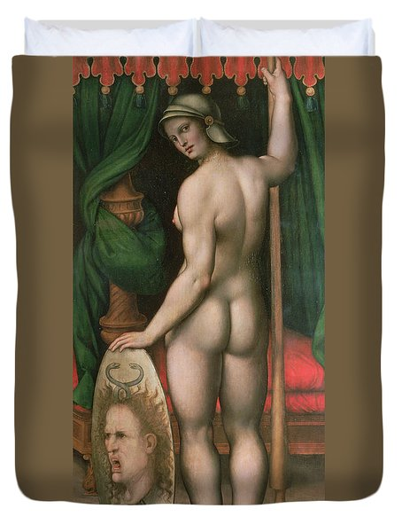 Pallas Athena Duvet Cover by Fontainebleau School