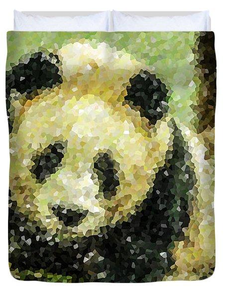 Panda Duvet Cover by Lanjee Chee