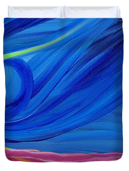 Panspermia  Duvet Cover by First Star Art