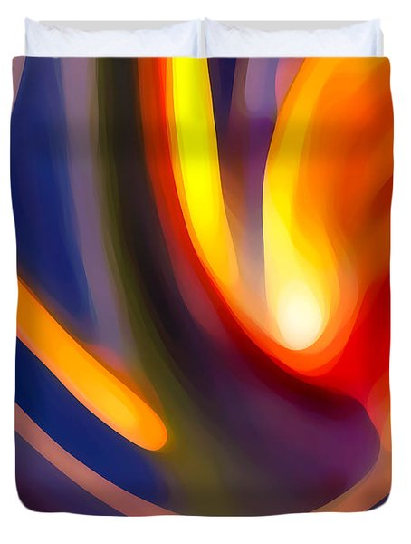 Paradise Creation Duvet Cover by Amy Vangsgard