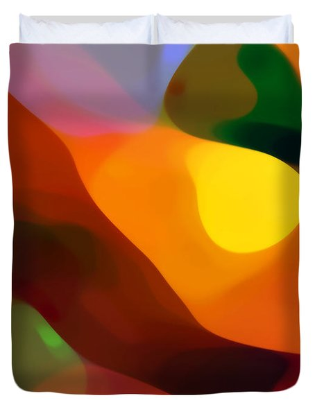 Paradise Found 2 Duvet Cover by Amy Vangsgard