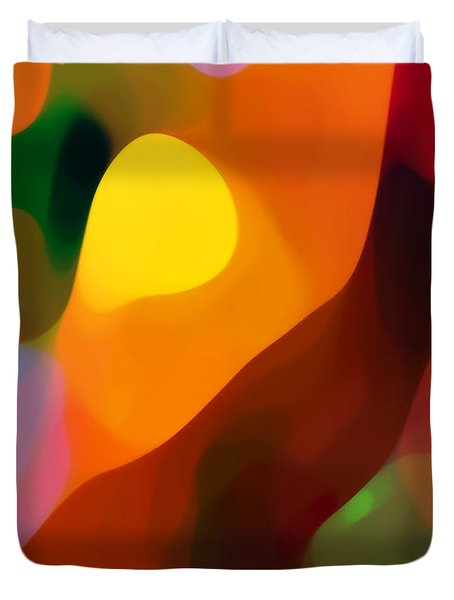Paradise Found 2 Tall Duvet Cover by Amy Vangsgard