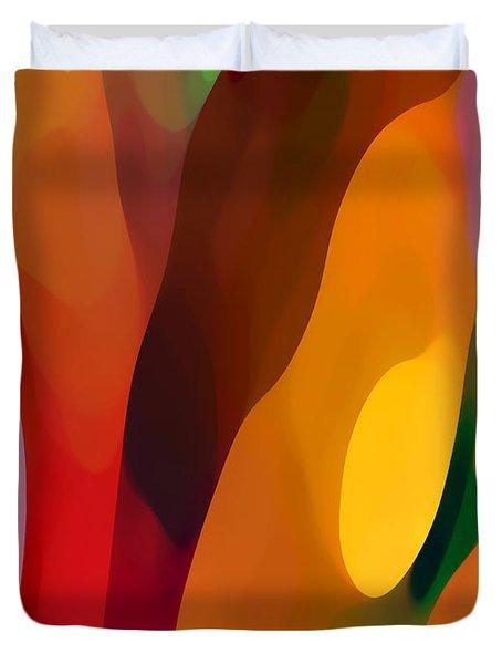 Paradise Found 3 Tall Duvet Cover by Amy Vangsgard