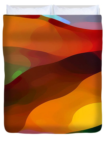 Paradise Found Duvet Cover by Amy Vangsgard