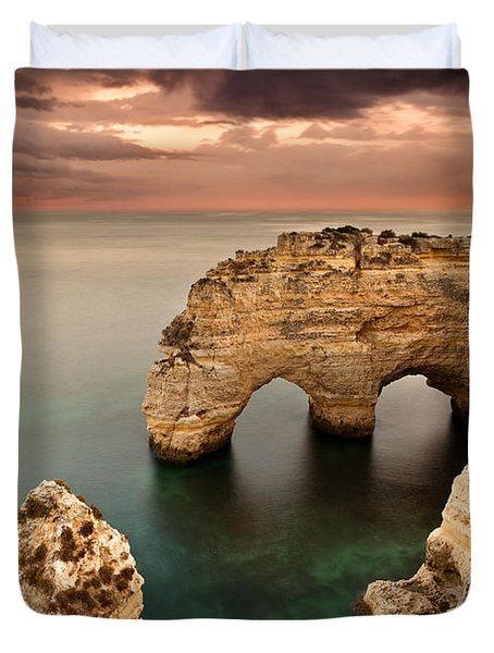 Paradise Duvet Cover by Jorge Maia