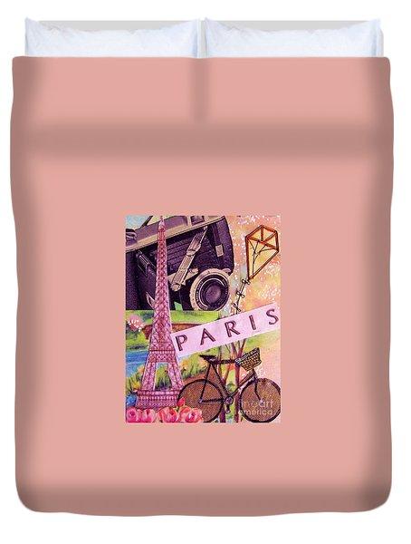 Paris  Duvet Cover by Eloise Schneider