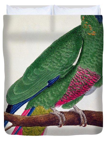 Parrot Duvet Cover by Francois Nicolas Martinet