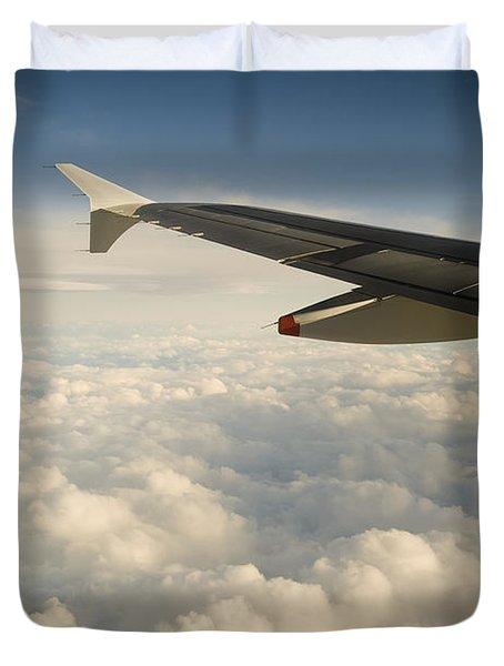 Passenger View Duvet Cover by Tim Hester
