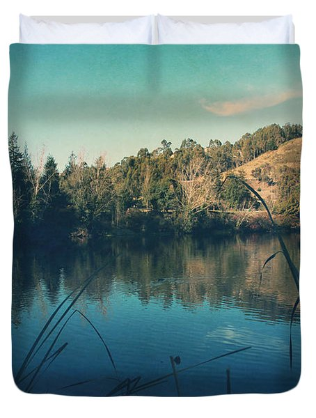Passing The Day Away Duvet Cover by Laurie Search