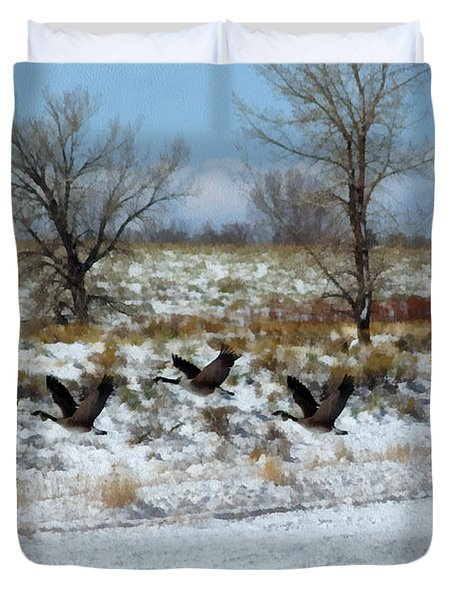 Passing Through 2 Duvet Cover by Ernie Echols