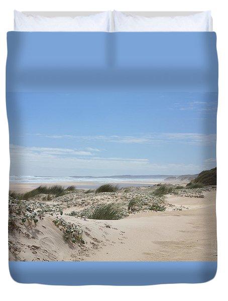 Pastel Dunes Duvet Cover by Elaine Teague