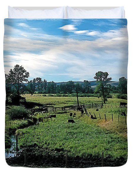 Pastoral 2 Duvet Cover by Terry Reynoldson