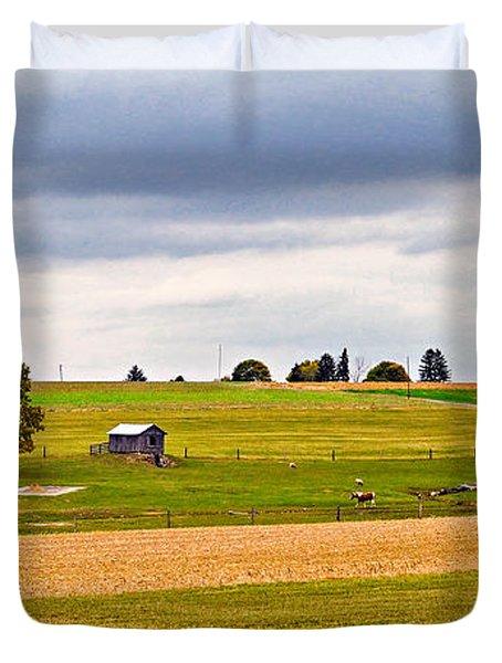 Pastoral Pennsylvania Duvet Cover by Steve Harrington
