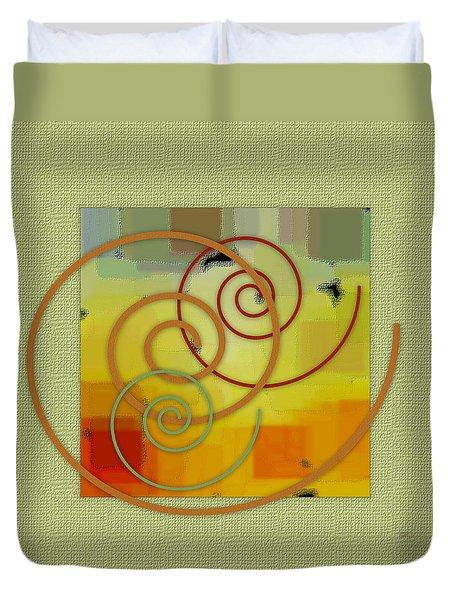 Patchwork I Duvet Cover by Ben and Raisa Gertsberg