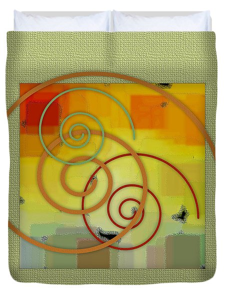 Patchwork II Duvet Cover by Ben and Raisa Gertsberg